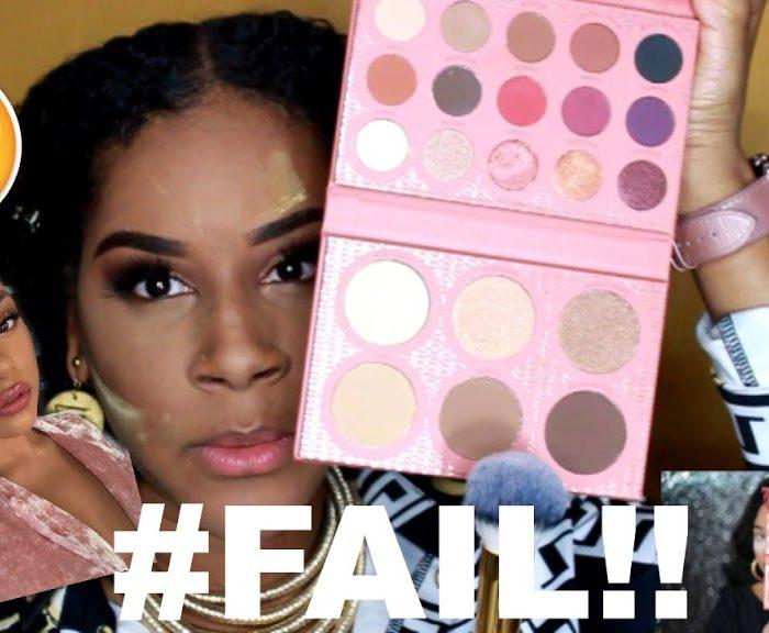 I Tried Following a ItsMyRayeRaye Pink Glam Makeup Tutorial